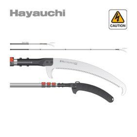Pértiga telescópica Hayauchi 4 ext