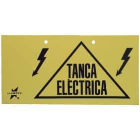 Letrero indicador en catalán