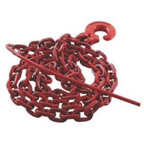 cadena cortada cabrestante