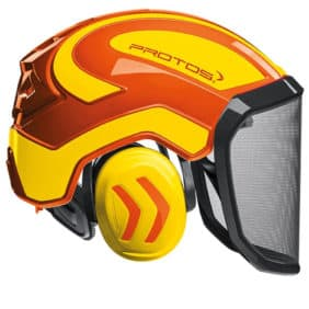 Casco protos integral natanja amarillo