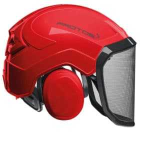 Casco Protos Integral rojo