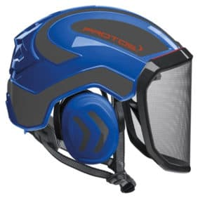 Casco Protos Integral azul