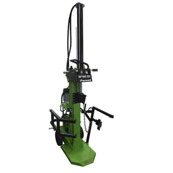rajadora2 Nueva normativa en las rajadoras hidráulicas Maquinaria Forestal