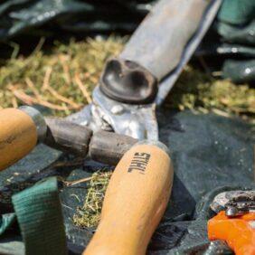 Herramientas para el mantenimiento de los árboles
